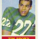 1964 Philadelphia Tim Brown RC Rookie #129
