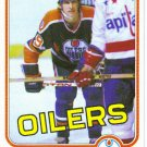 1981 Topps Wayne Gretzky HOF 3rd Year #16