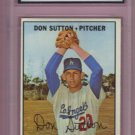1967 Topps Don Sutton HOF 2nd Year #445 Graded GMA 5.5 EX+