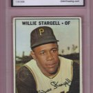 1967 Topps Willie Stargell HOF #140 Graded GMA Authentic