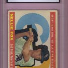 1960 Topps Nellie Fox HOF #555 Graded GMA 3.5 VG+