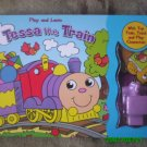 Play And Learn Book with Tessa the Train - 4 in 1 [Book, Puzzle, Toy & Character Play]