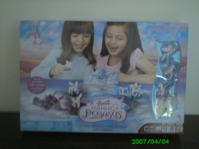 Barbie Magic Pegasus Board Game Set