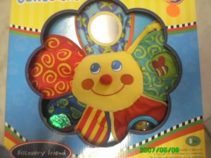 Jolly Baby - Activity Rattle, Discovery Friend