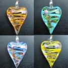 1pcs Glass Lampwork Hand Art Craft Colorful Cheap Flower Jewelry Pendant SC0112-115