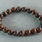 Natural Red Tiger Eye Gemstone Buddhist Mala Bracelet TG21