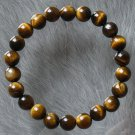 Natural Tiger Eye Gemstone Buddhist Mala Bracelet BG21