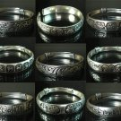 12pcs Chinese Traditional Folk Art Tibet Silver Bangle (Random Design)