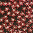 1000 pcs Wedding Dress Accessories Silvertone Dot Pink Red Resin Star Flower Beads Findings ZZ5113