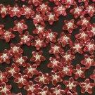 1000 pcs Wedding Dress Accessories Silvertone Dot Pink Red Resin Star Flower Beads Findings ZZ5113