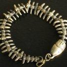 Wholesale 12pcs Alloy Zinic Brass Cool Male Men's Gift Joint Section Snake Python Boa Bracelet