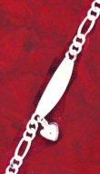 Sterling Silver Chain Bracelet  ( 0254J-S-B543 )