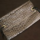 Reclaimed Fabric Clutch