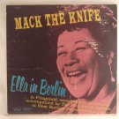 Ella Fitzgerald ‎ Mack The Knife/Ella In Berlin 1960 LP ships worldwide