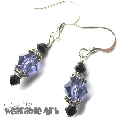 The Classic Look II - Swarovski Crystal Earrings
