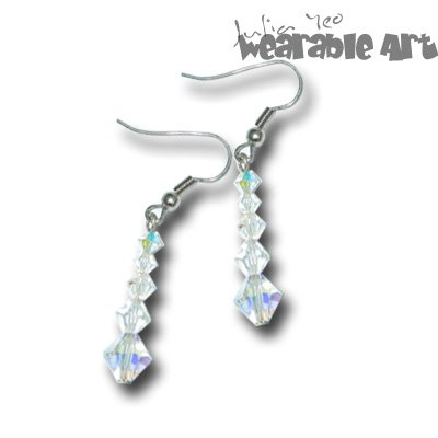 Heaven's Land - Swarovski Crystal Earrings