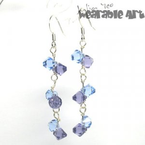 Laura - Swarovski Earrings / .925 Sterling Silver