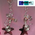 ~Beach Babe~ Swarovski Burgandy Starfish Earrings