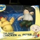 Family Guy The Giant Chicken vs Peter