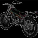 MONTESA Cota 348 MOTORCYCLE PARTS MANUAL & PARTS LISTs
