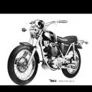 BSA B25 B50 250 500 VICTOR GOLD STAR MOTORCYCLE MANUAL