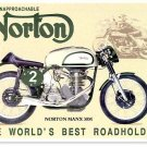 NORTON MANX 30 40 REPAIR OPERATIONS MANUALS & Brochure