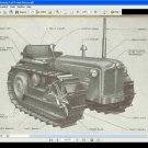 COUNTY TRACTOR FULL TRACK PARTS MANUAL & ATTACHMENT GUIDE Set