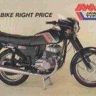 JAWA 350 638-5 638.5 634 MOTORCYCLE OPERATIONS MANUAL