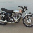 BSA 1948-1960 A B C D M MOTORCYCLE SERVICE SHEET MANUAL