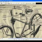 MONTESA D51 D51z MOTORCYCLE PARTS & DIAGRAM MANUALs