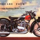 ARIEL SQUARE FOUR 4 MOTORCYCLE SERVICE & PARTS MANUAL s