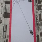 EEK!!  Spider Notepad - Magnetic