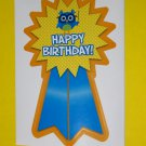 &quot;Happy Birthday&quot; Ribbon-like Stickers