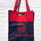 "Tote Bag - Red and Navy ""Holt"""