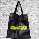 "Tote Bag - Black and Yellow ""Dollar General"""