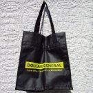 """Tote Bag - Black and Yellow """"Dollar General"""""""