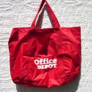 "Tote Bag - Red and White ""Office Depot"""