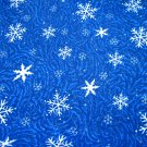 Cloth Material - SNOWFLAKES!!