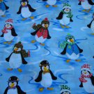 Cloth Material - Happy Penguins!