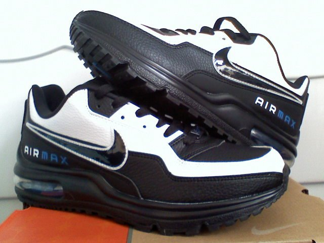 NIKE AIR MAX LTD WHIT/BLACK