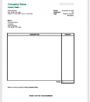 HTML Coded Invoices / Emails