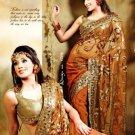 Indian Bollywood Designer Embroidery Saree Sari - VS1009