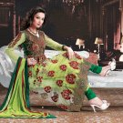 Net Bollywood Wedding Salwar Kameez Shalwar Suit - DZ 5121a N