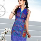 Indian Bollywood Cotton Partywear Kurti Kurta Tops - X 1004A