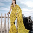 Sarees Sari Partywear Faux Georgette Designer Printed With Blouse - SM 693A N
