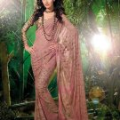 Sarees Sari Partywear Faux Georgette Designer Printed With Blouse - SM 618A N