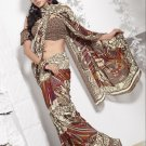 Indian Bollywood Designer Printed Saree Sari - 13017A