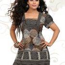 Indian Bollywood Faux Crepe Partywear Kurti Kurta Tops - X 47
