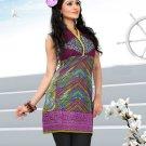 Indian Bollywood Cotton Partywear Kurti Kurta Tops - X 1004B
