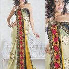 Faux Georgette Bridal Wedding Designer Embroidered Saree with Blouse - X 1517 N